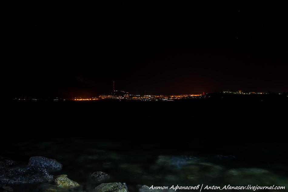 Ночной Магадан