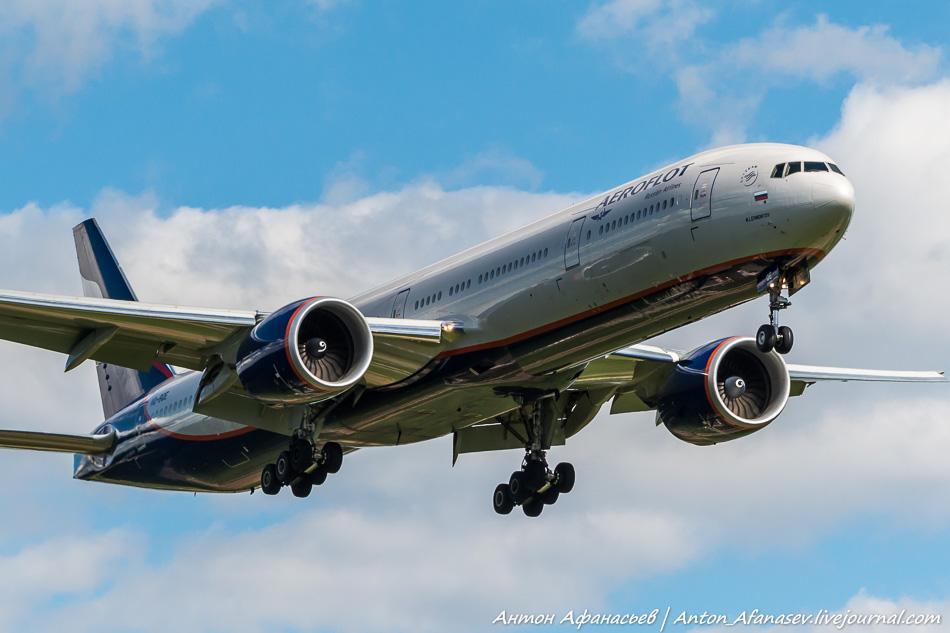 Boeing 777-300, VQ-BQE