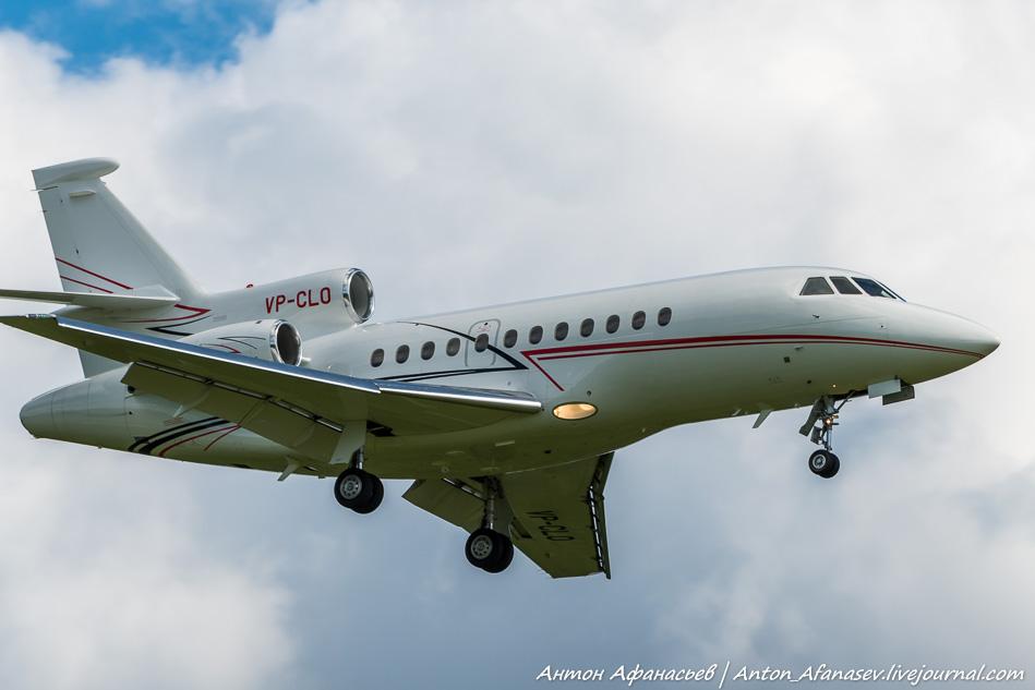 Dassault Falcon 900EX,VP-CLO