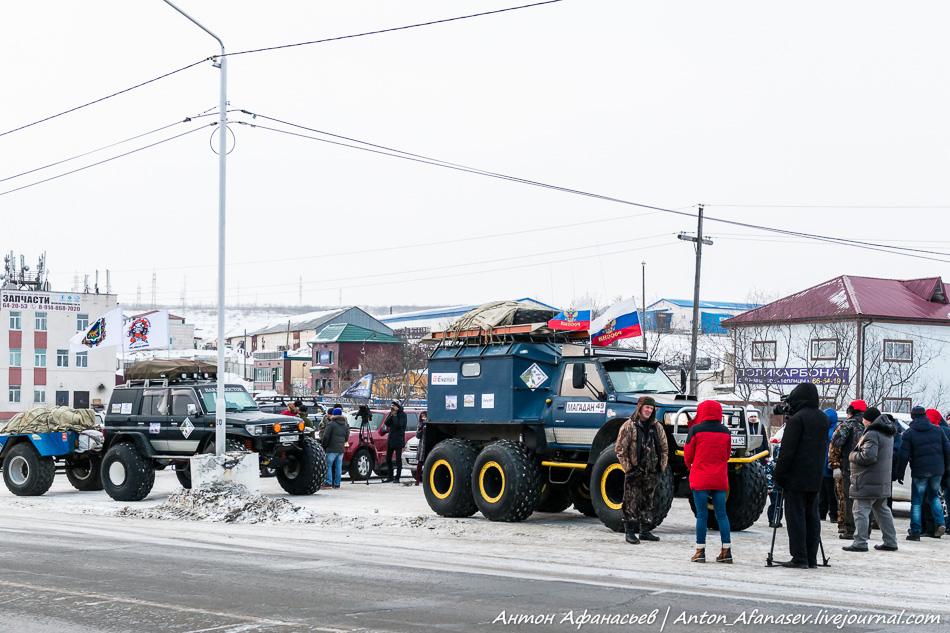 Автопробег Магадан – Петропавловск-Камчатский 2016