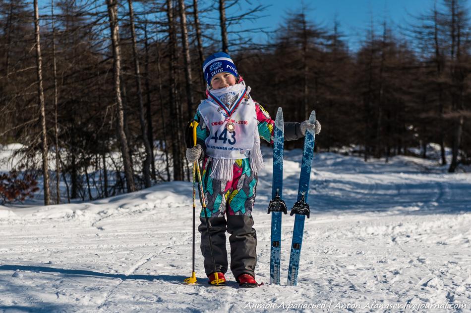 Лыжня России, Магадан 2016