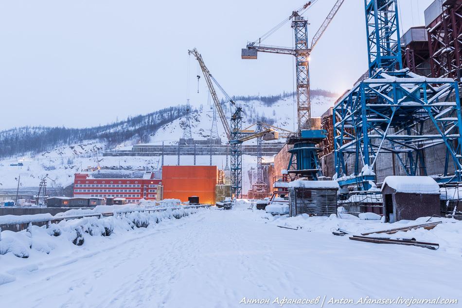 Каскад гидроэлектростанций  на Колыме
