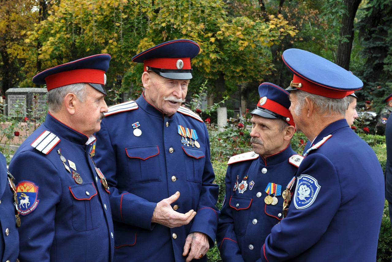 О чем судачат казаки