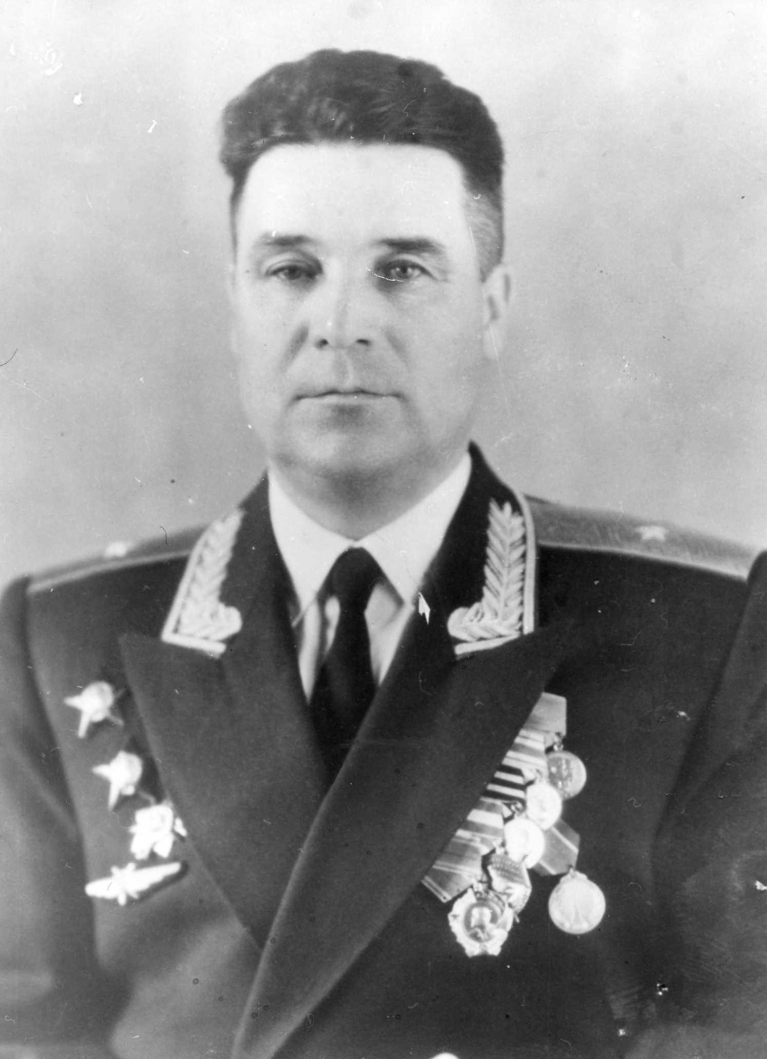 генерал-майор Фролов Борис Иванович