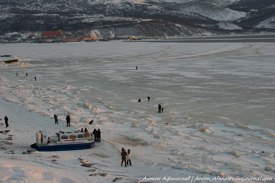 Магадан, бухта Нагаева
