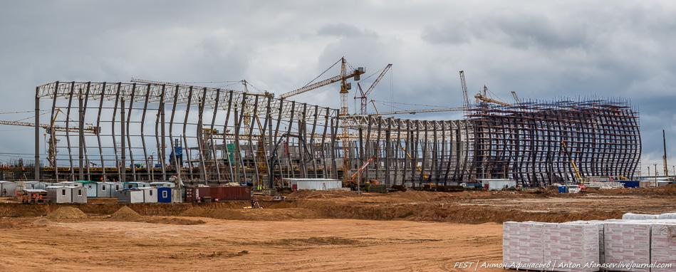 Строительство международного аэропорта - Симферополь