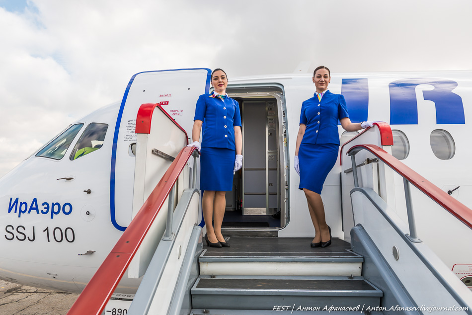 Авиакомпания Ираэро эксплуатант самолета Sukhoi Superjet 100