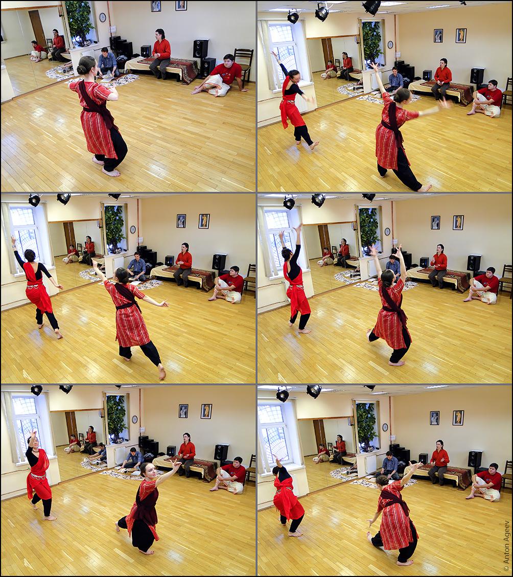 Каллиграфия танца — Бхаратанатьям