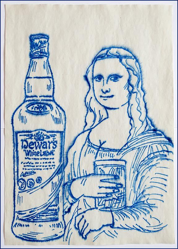 Виски Дьюарс и Мона Лиза