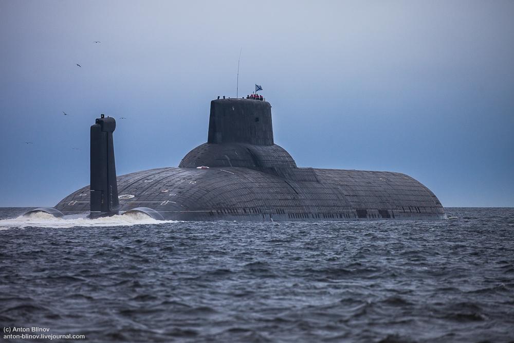 подводная лодка фото размеры