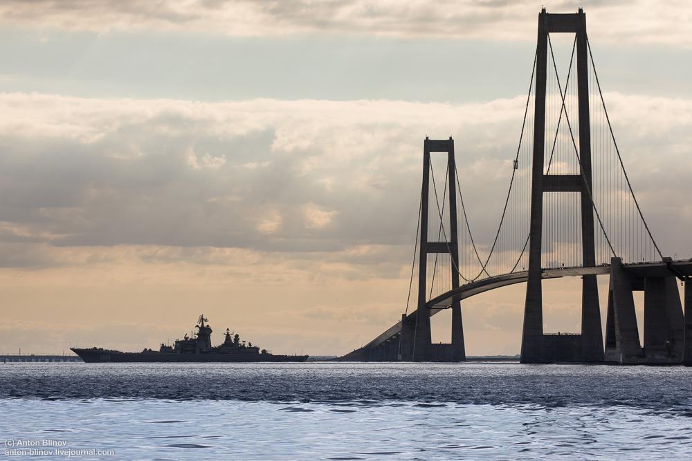 Атомные крейсера Северного флота вошли в Балтику