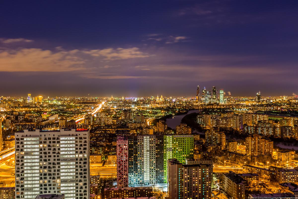 Городской пейзаж. Москва весенняя
