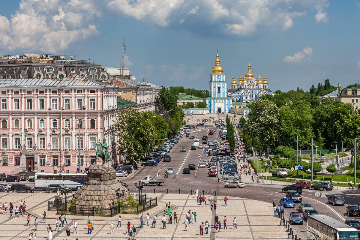 Маршрут выходного дня. Киев Часть 1