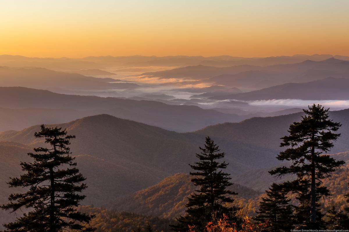 Автопутешествие по востоку США. Great Smoky Mountains