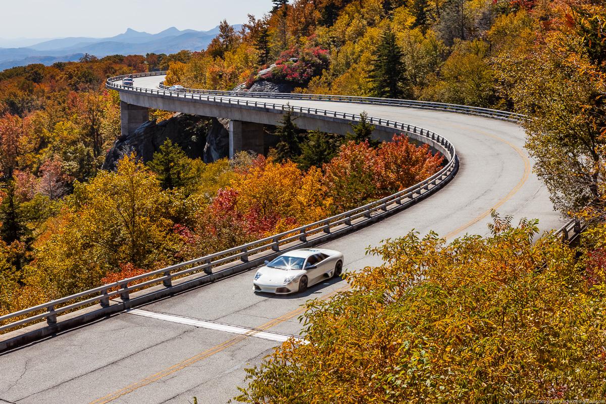Автопутешествие по востоку США. Blue Ridge Parkway