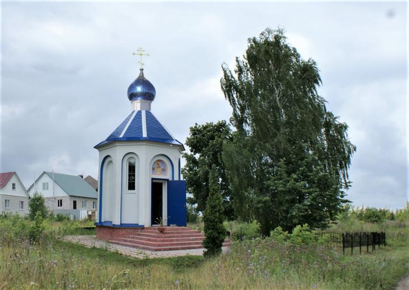 Общий вид православной часовни на месте упокоения расстрелянных заложников (Проект)