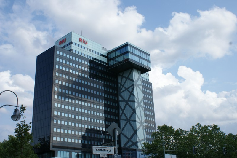 Центр Берлина. Современная архитектура