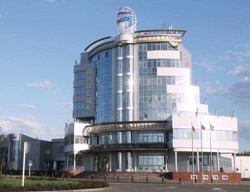 Общий вид здания АДЦ