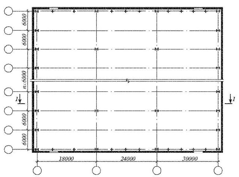 Здания многоцелевого назначения типа «молодечно» Решение плана