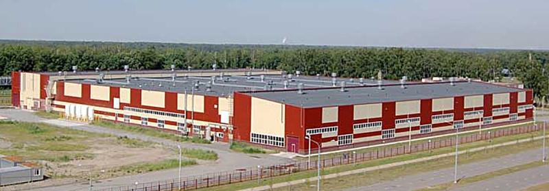 Рис. 3. Завод по производству современных металлоконструкций в ОЭЗ ППТ «Липецк»
