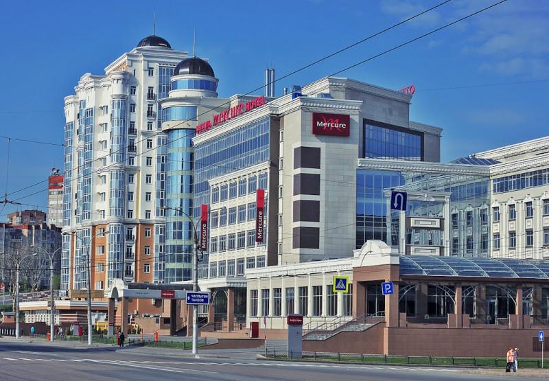 Площадь Театральная города Липецка. Фото автора