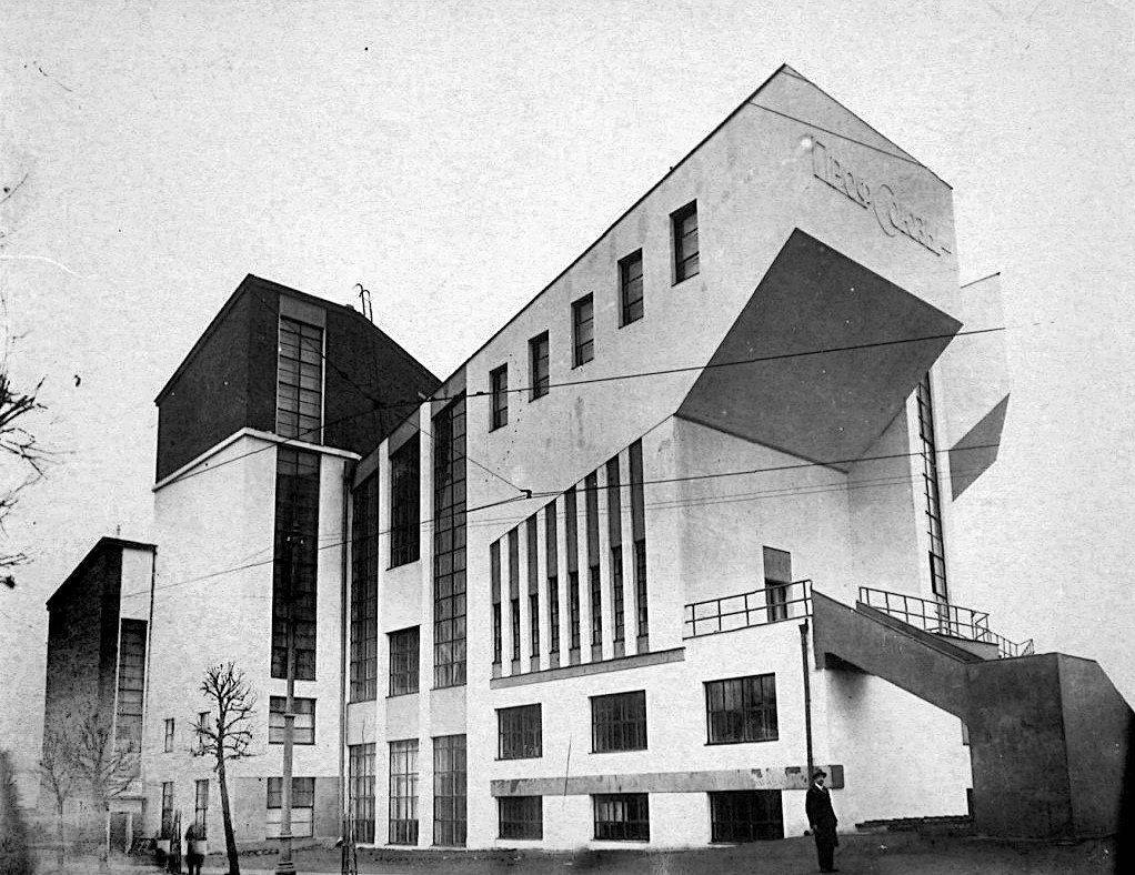 Клуб. архитектор Мельников
