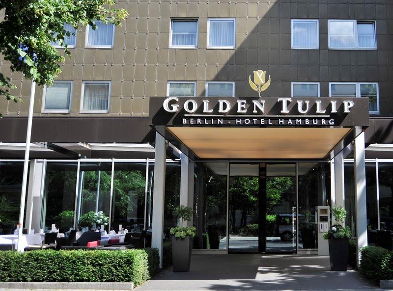 """Входная группа отеля """"Golden Tulip Berlin"""""""