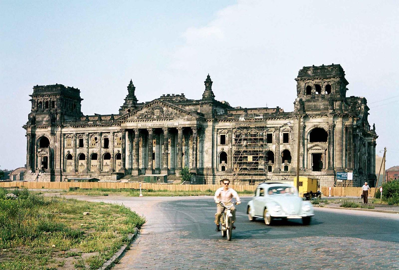 Рейхстаг после войны