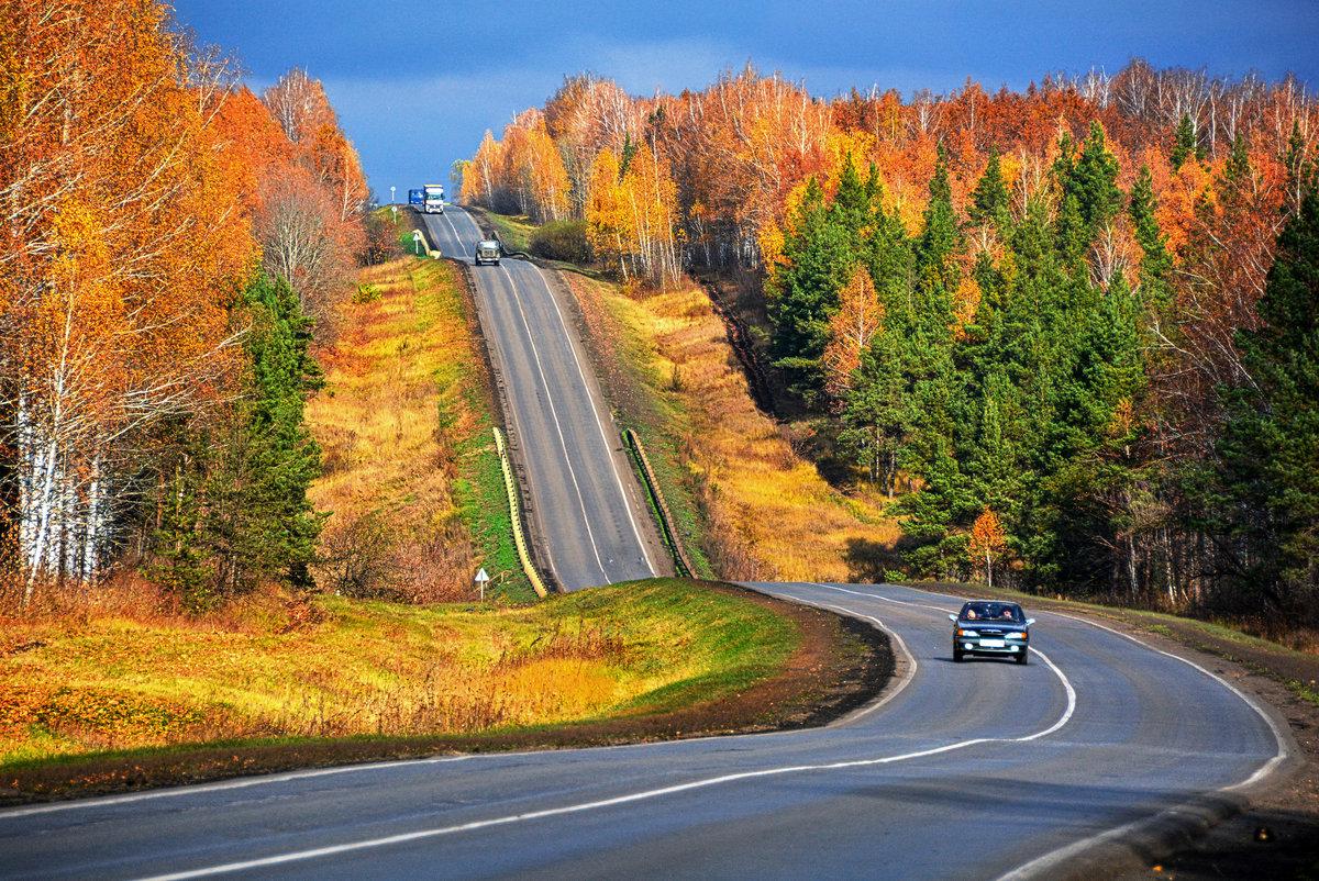 Дорогу нужно проектировать с учётом характеристик ландшафта. А Вам попадались такие участки? Безопасно на них себя чувствуете? Почему?
