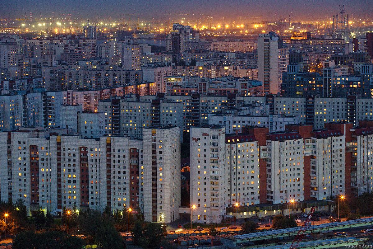 Так выглядит многоэтажная застройка типовыми зданиями