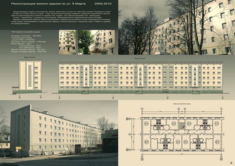 Реконструкция общежития
