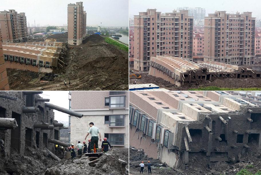 Китай. На месте технологической катастрофы