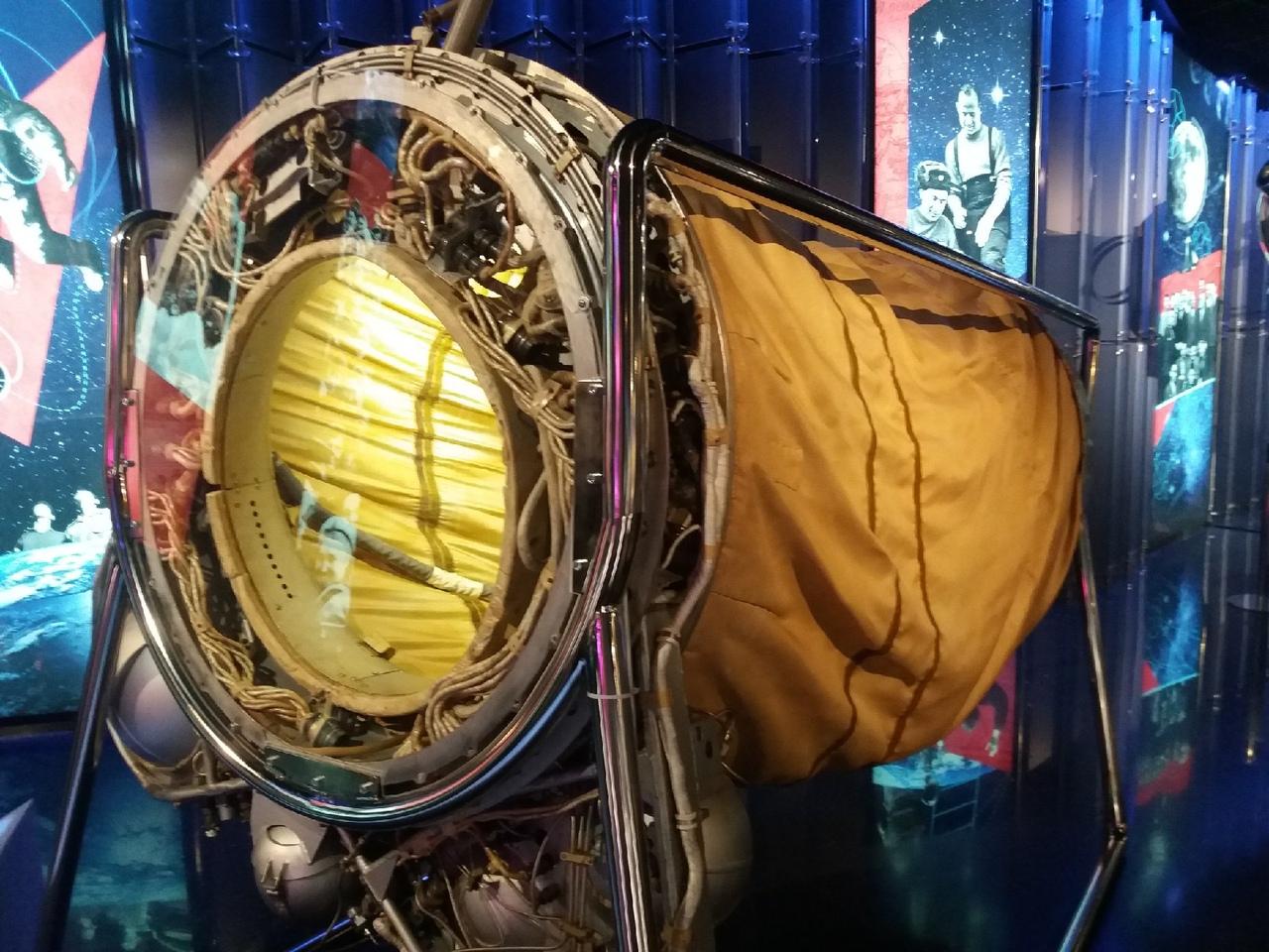 Шлюзовая камера для выхода в открытый космос