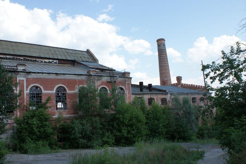 Завод, на котором производились лучшие в Европе конфеты
