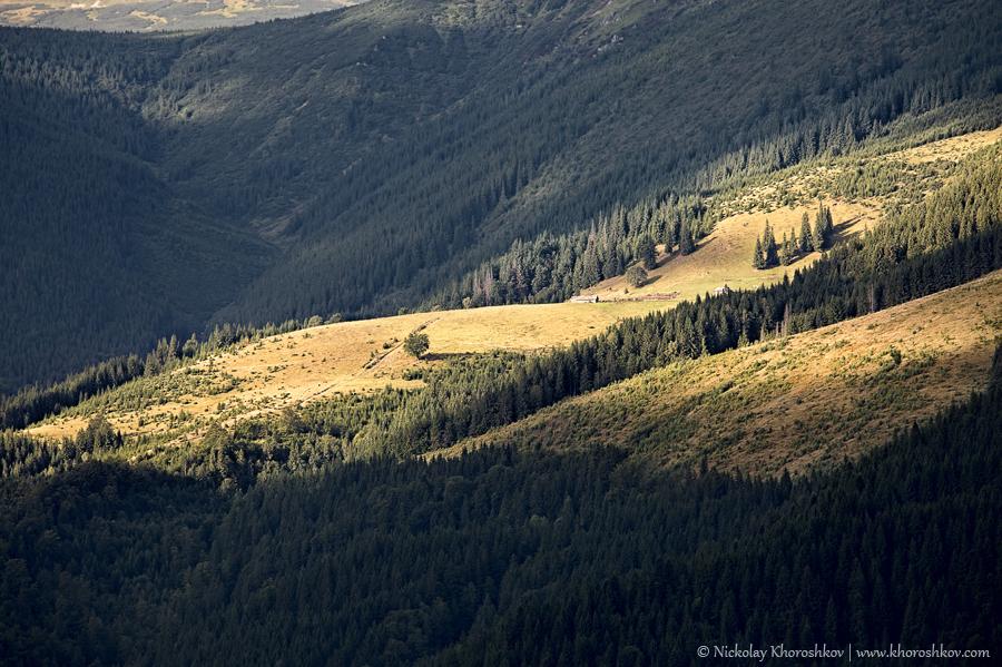 Carpathian mountain hills_5