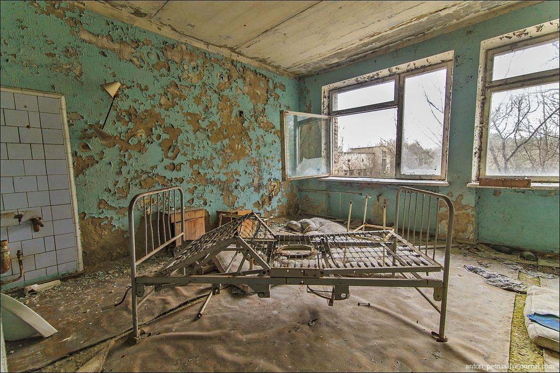 Припять - больница (4)