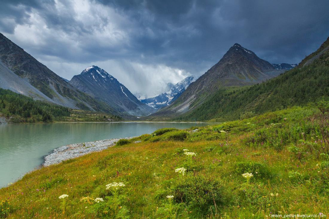 Озеро Аккем, Белуха (2)