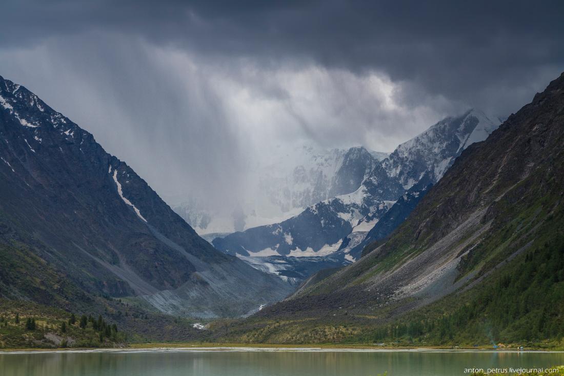 Озеро Аккем, Белуха (3)