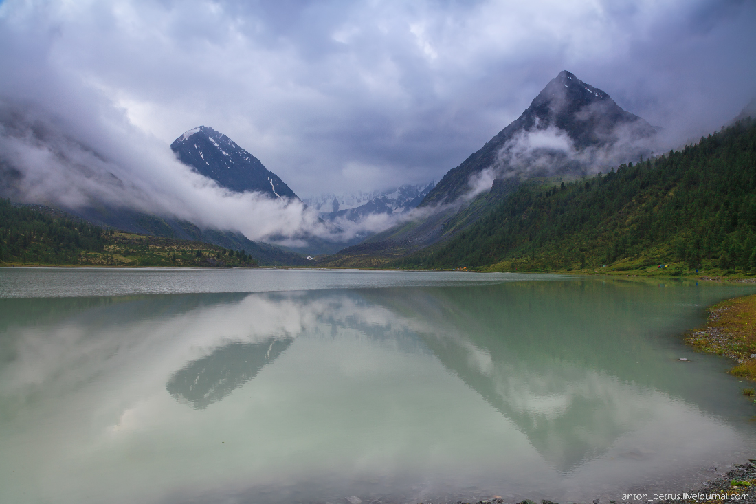 Озеро Аккем, Белуха (9)