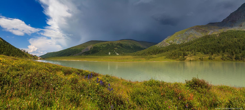 Озеро Аккем, Белуха (11)