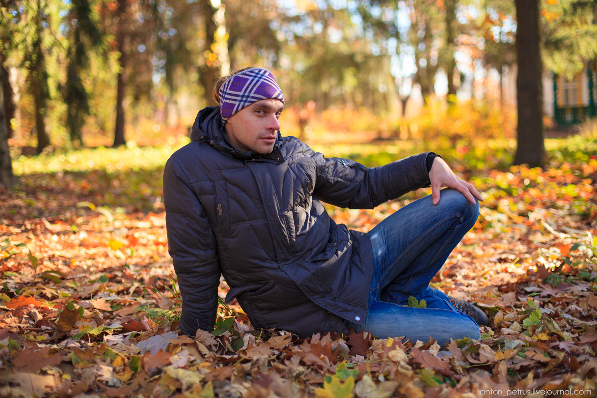 Как правильно фотографироваться осенью (1)