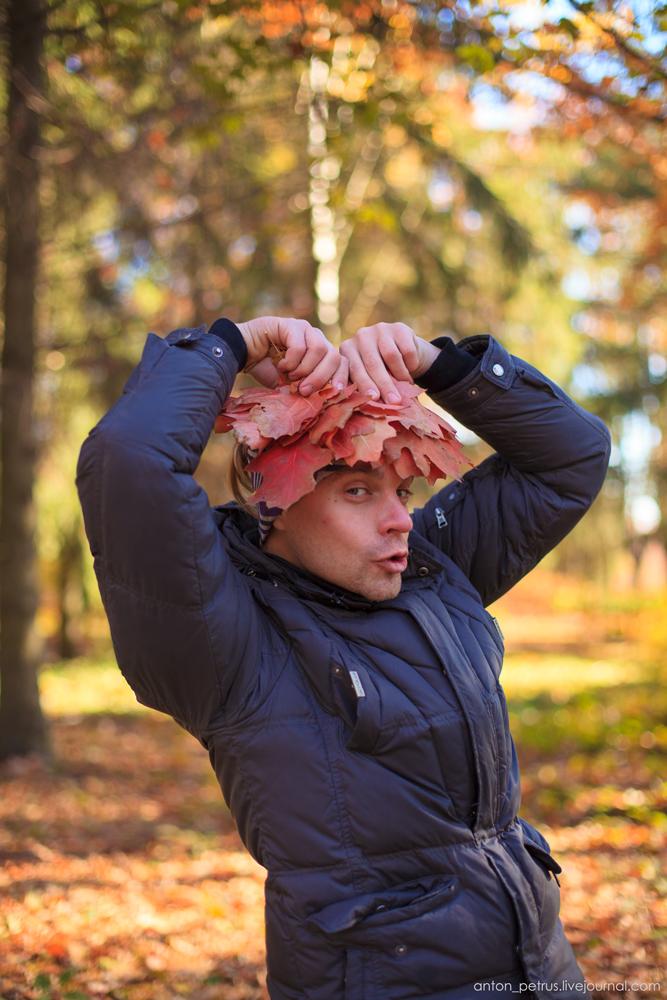 Как правильно фотографироваться осенью (2)