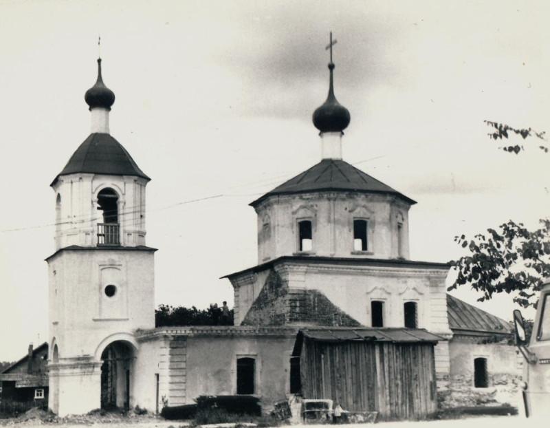 храм Казанской Божией Матери с. Власьево