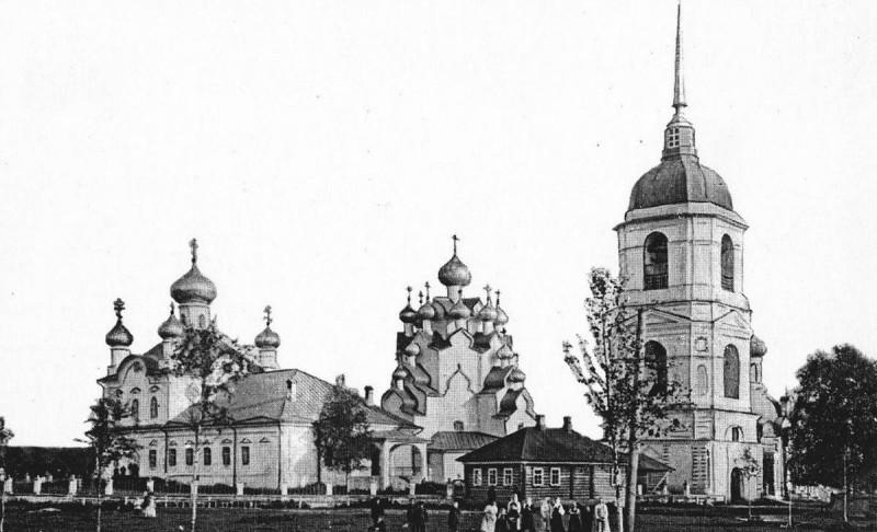 Снимок после 1905 года со стороны, противоположной съемке Прокудина-Горского