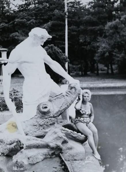 Красавица и чудовище. Фото СССР.