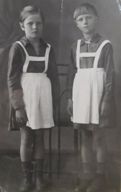 Моя бабушка и её  родная старшая сестра.