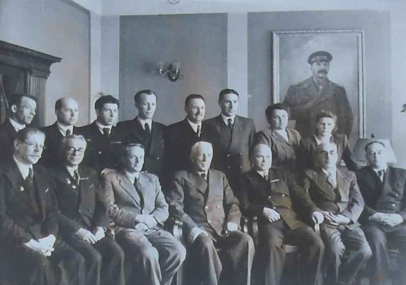 Руководители Президиума и институтов Западно-Сибирского филиала АН СССР. 1952 год