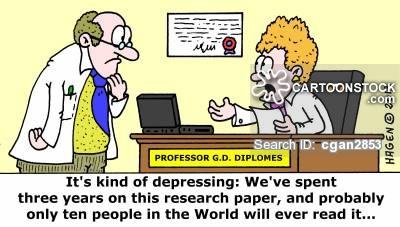 Internet research paper cartoon