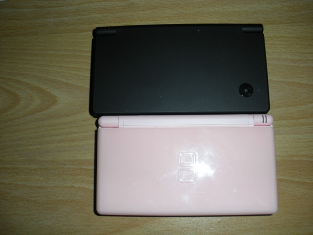 DSi and DS lite closed