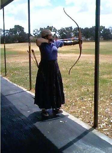 Anysia, Sagitarian Archer